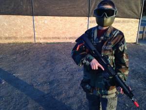 safe airsoft gun handling